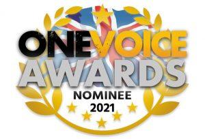 One Voice Awards nominee 2021 logo