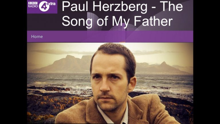 Screenshot of Paul Herzberg – the Song of My Father on BBC Radio 4 Extra